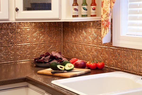 self-adhesive kitchen ideas tin tile backsplash Rv remodel