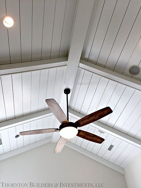 Modern Farmhouse Home Decor Ceiling Fan For High Vaulted Ceilings