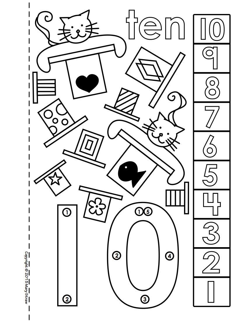 Printable Number Book
