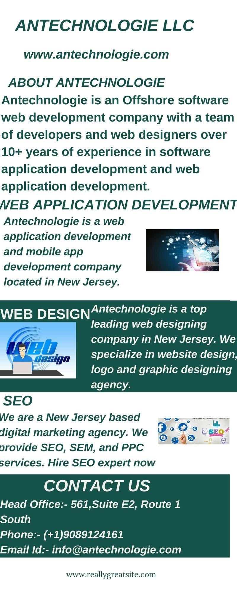 Antechnologie Web Design Company In Edison New Jersey A Web Design Com App Development Companies Web Application Development Mobile App Development Companies