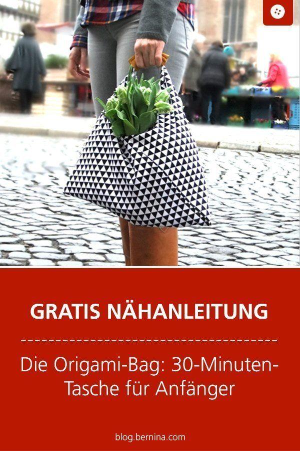 Photo of Die Origami-Bag: 30-Minuten-Tasche für Anfänger » BERNINA Blog