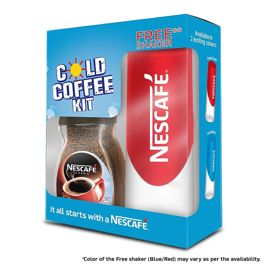 Nescafe Classic Jar, 50g with Free Shaker (Red/B