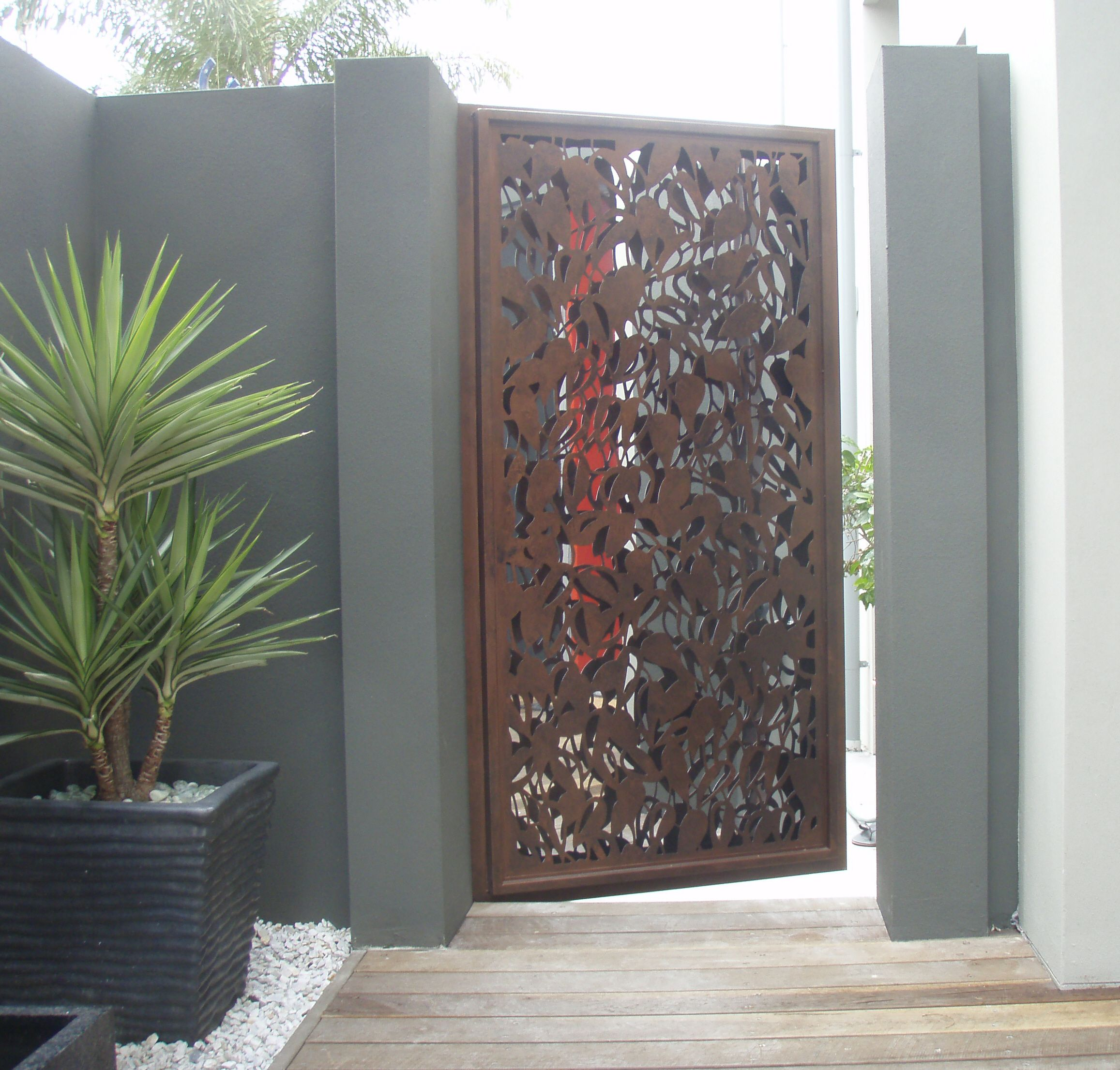 Pin By Screen Art Privacy Screens On Gates And Doors