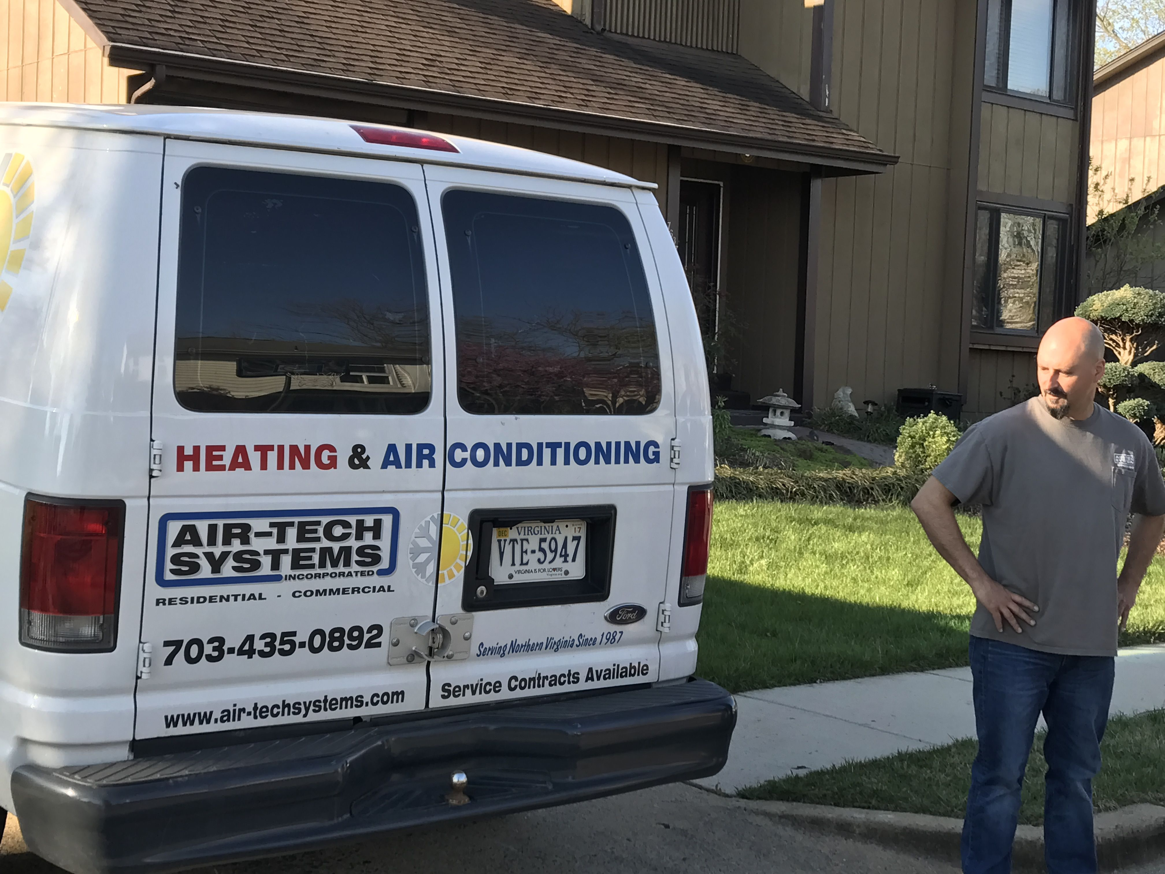 Heating And Air Conditioning Repair Air Tech Systems Inc 10930