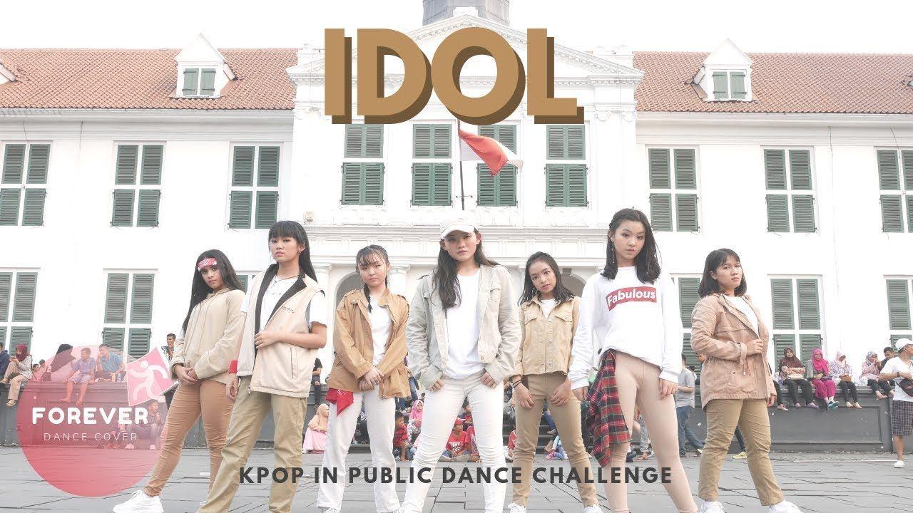 Kpop In Public Challenge Bts Idol Dance In Public Dance Idol Public