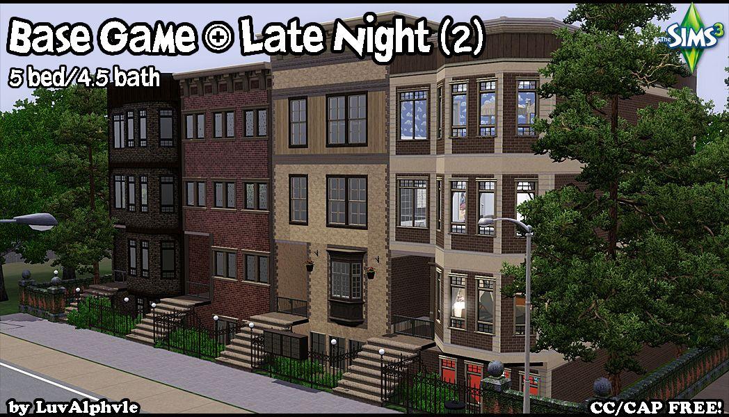 Mod The Sims Base Late Night Plus Series 3b