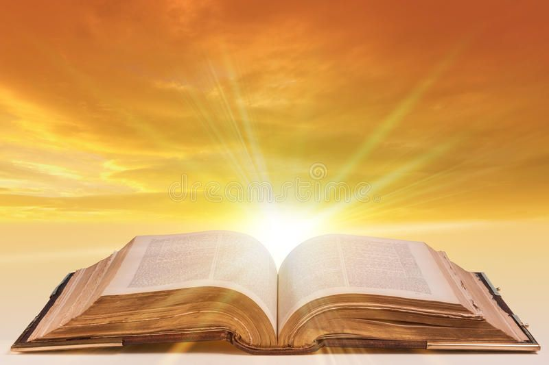 Open bible. Old antique bible as an open book with sunlight bursting from  the pa , #Aff, #antique, #open, #Open, #bible,… | Open bible, Bible images,  Bible pictures