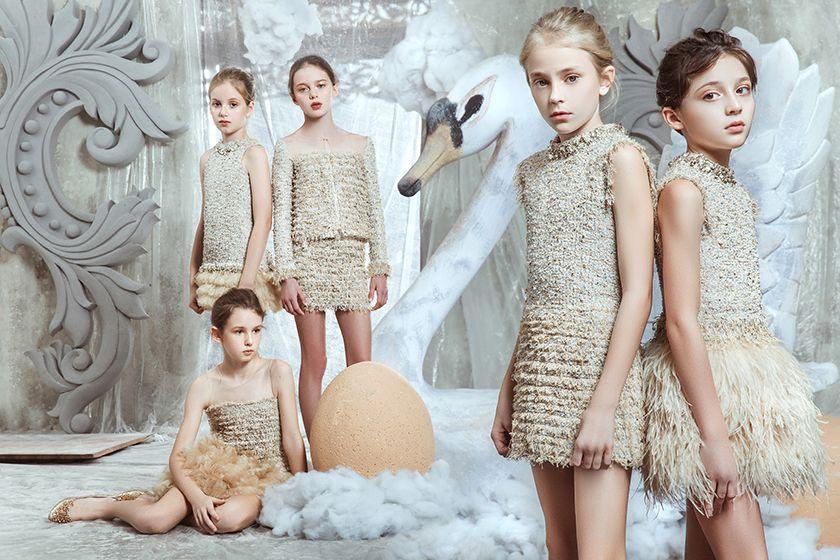 Kinderkleding Party.Mischka Aoki Fall Winter To The Fairest Goodgirlscompany Exclusieve