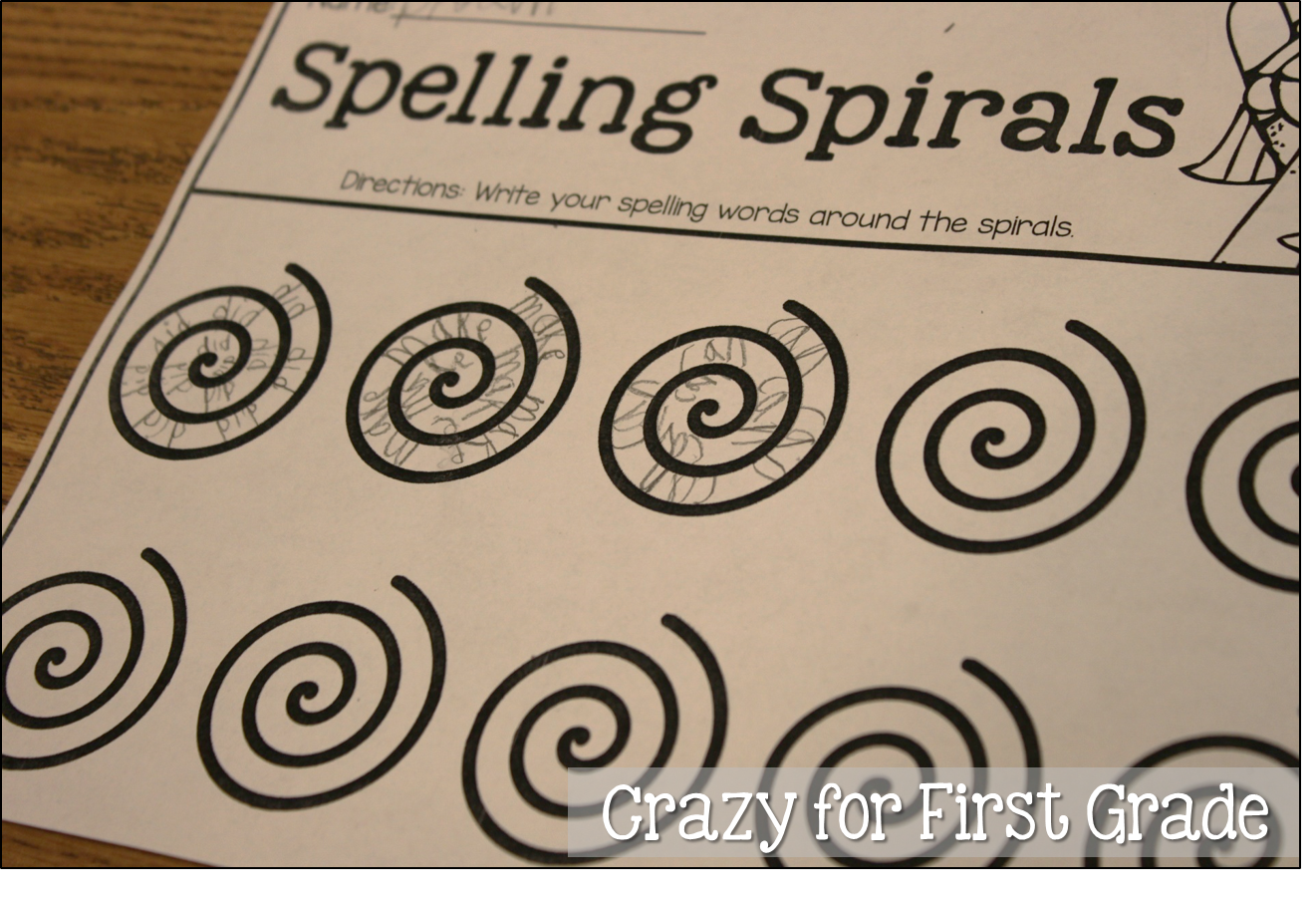 write a story with spelling words
