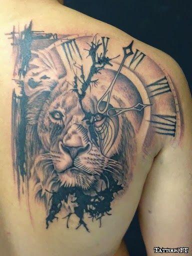 Test Title Mens Lion Tattoo Watch Tattoos Tattoos