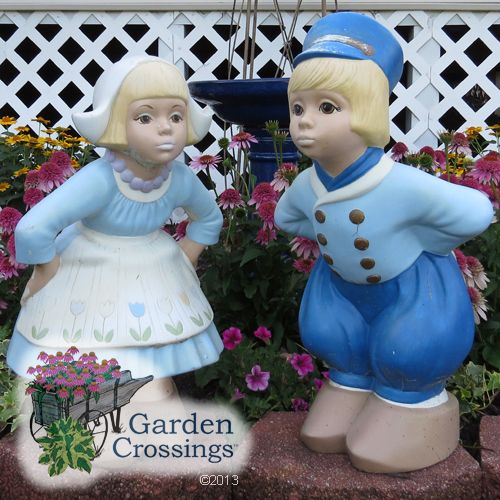 I Love These Garden Statues That Remind Me Of My Dutch Heritage. These  Kissing Dutch Boy And Dutch Girl Have Been Passed On To The Next Generation  Of ...