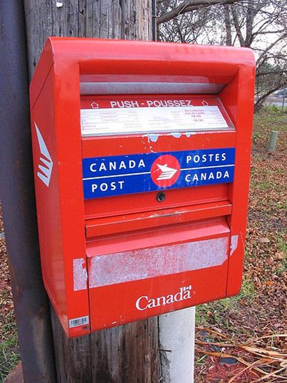 With Canada Post Out On Strike I M Noticing Curbside Drop