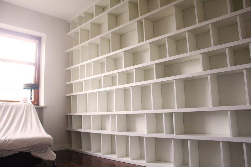 Regał Na Książki Na Całą ścianę Szukaj W Google Living