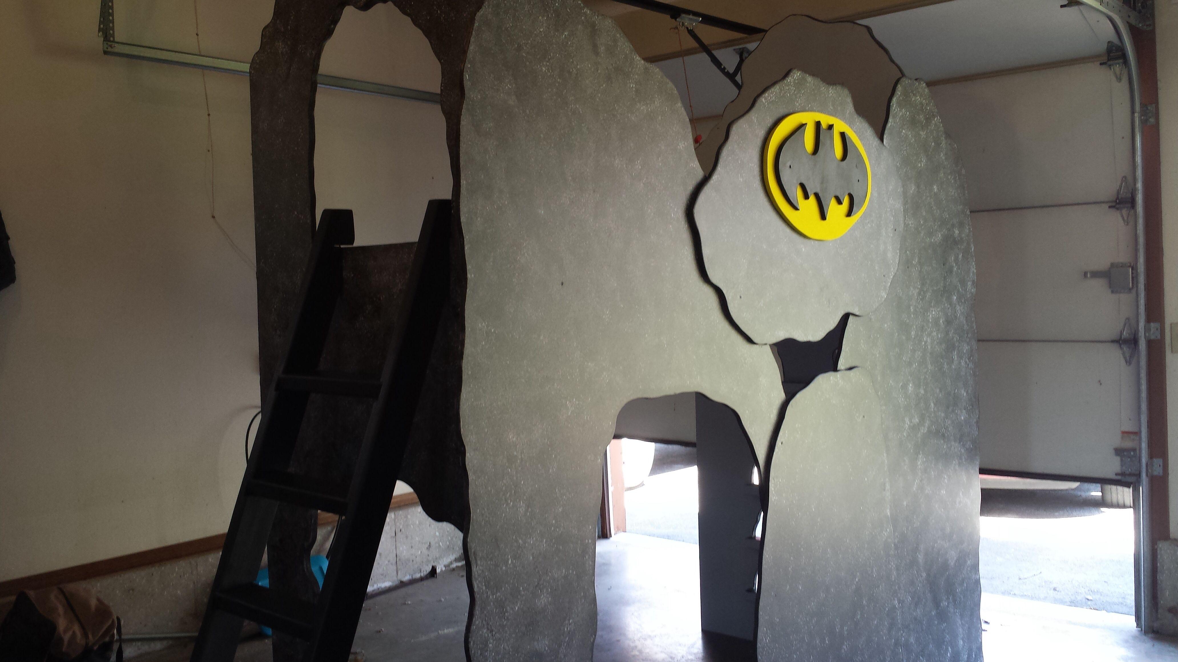 Batman Bat Cave Boys Loft Bed Unique Themed Bed Perfect