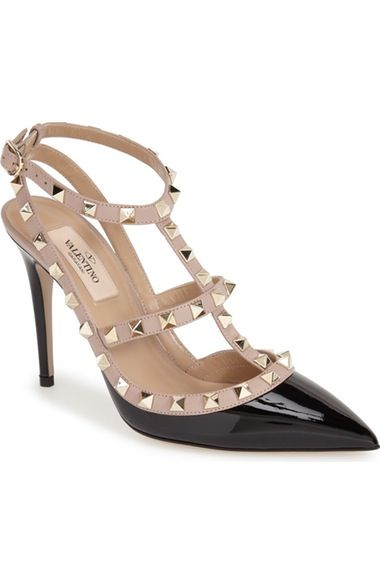 25556fa411 Valentino Rockstud T-Strap Pump (Women) available at #Nordstrom ...