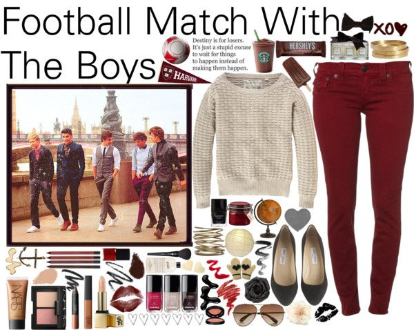 """Football Match With The Boys - #028"" by onedirection-outfits ❤ liked on Polyvore"