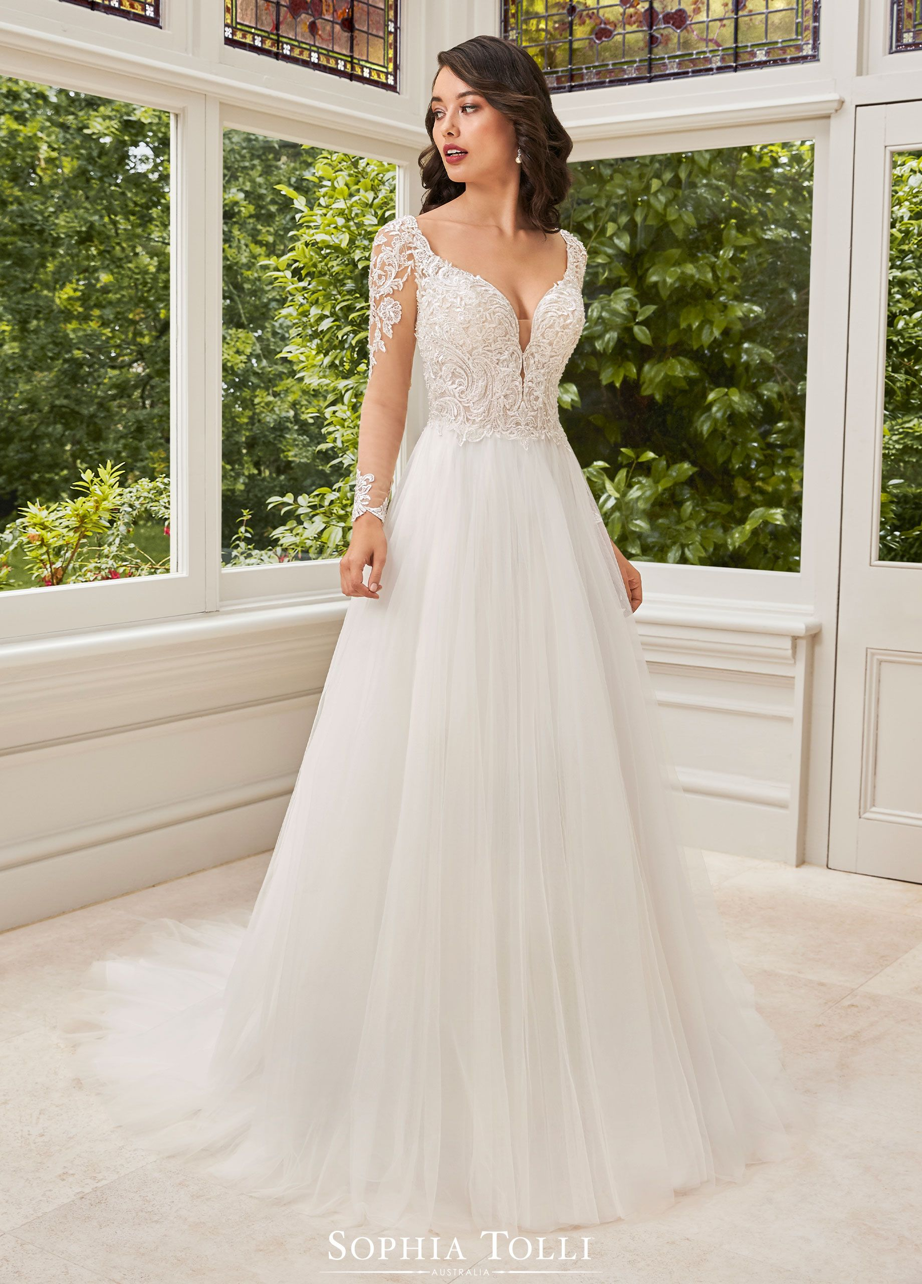 Sophia Tolli Kaia Wedding Dresses With Flowers Sophia Tolli Wedding Dresses Gold Wedding Gowns