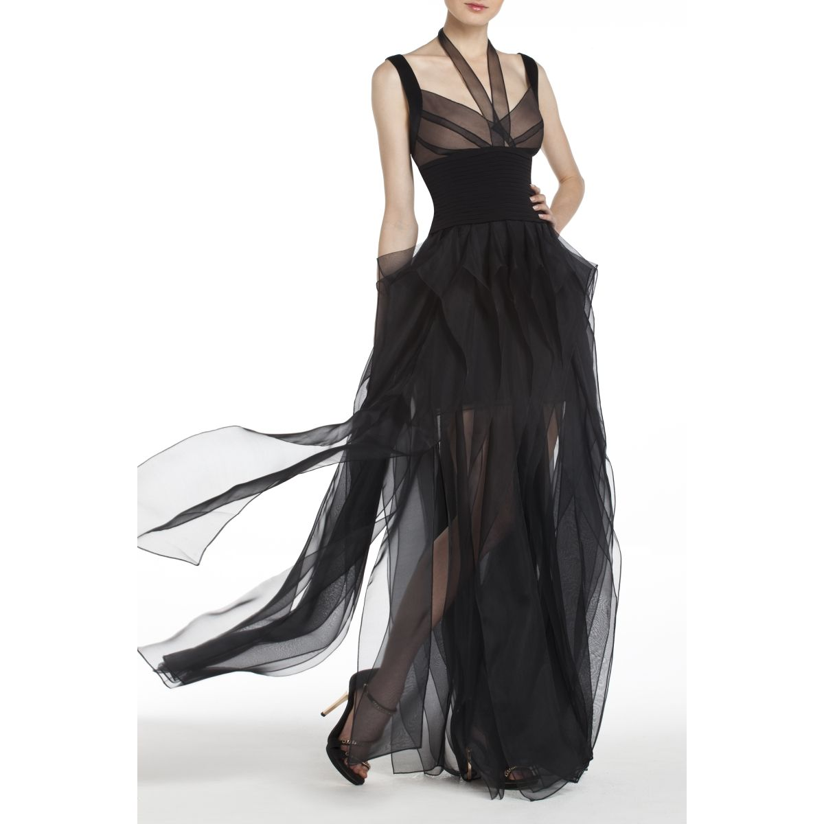 BCBGMAXAZRIA - DRESSES: EVENING: HERVE GOWN | Couture | Pinterest ...