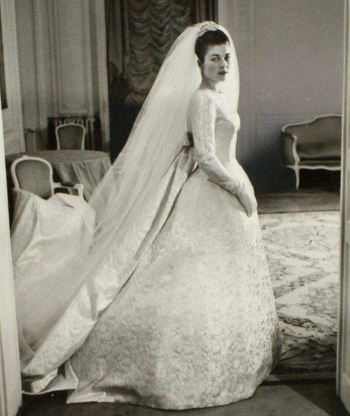 carolathhabsburg: Pss Helene of France on the day of her wedding ...