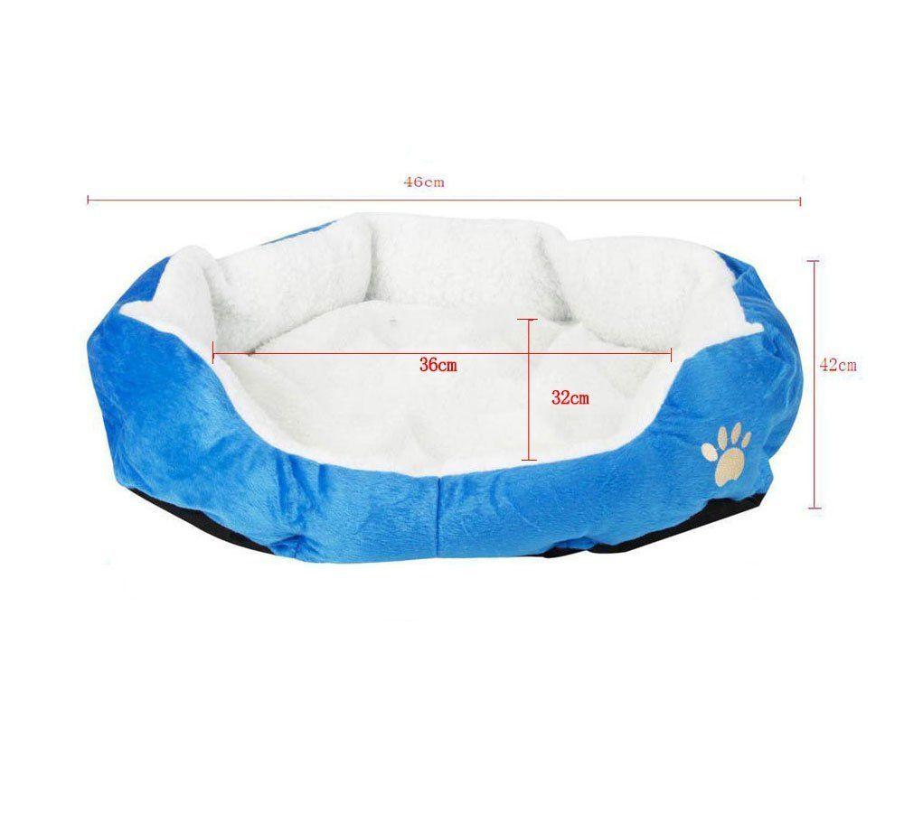 Leegoal(TM) Puppy Kitten Nest Berber Fleece Sofa Pet Bed