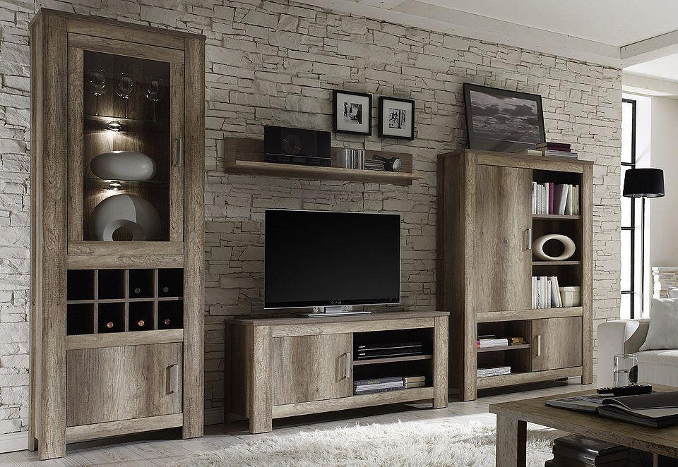 Wohnwand Real Fsc Zertifizierter Holzwerkstoff Online Kaufen Otto Wohnzimmermobel Modern Mobel Wohnzimmer Wohnzimmermobel