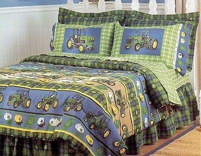 John Deere Bedroom Ideas Bedding Comforter Set Full Double Size
