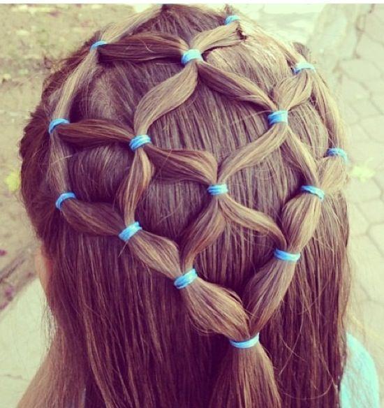 Spiderweb Braid Hair Styles Crazy Hair Days Wacky Hair