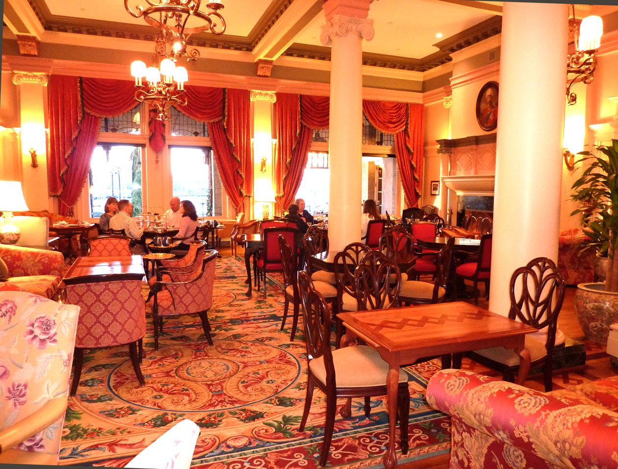 Tea Time At The Empress Empress Hotel Fairmont Empress Hotel Tea Room