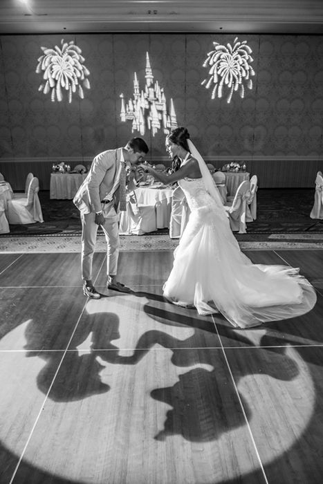 Storybook inspired wedding reception at Walt Disney World. Photo: Mike, Disney Fine Art Photography