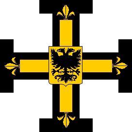 Cruz de la Orden de Caballeros Teutónes.