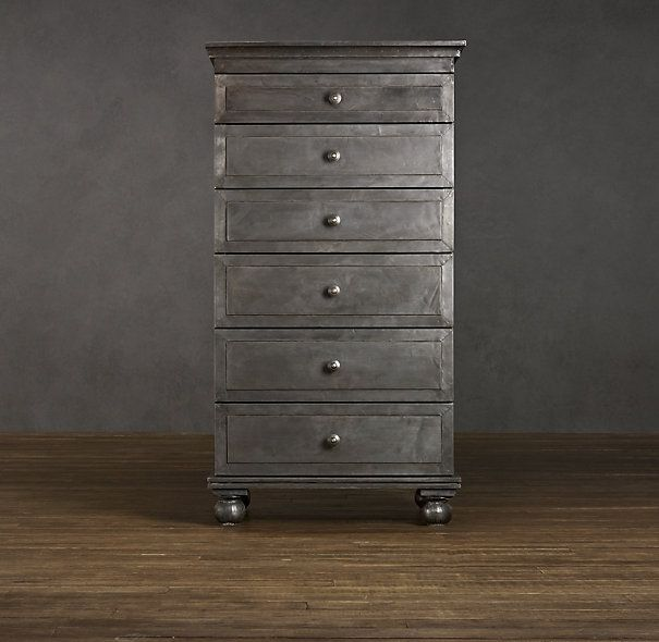 Love This Zinc Dresser From Restoration Hardware