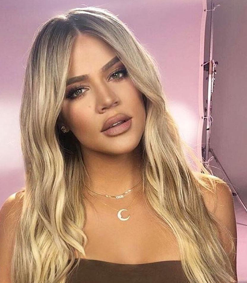 4ef22dedc3197 Mini Block Name Necklace- Kylie Jenner / Khloe Kardashian in 2019 ...