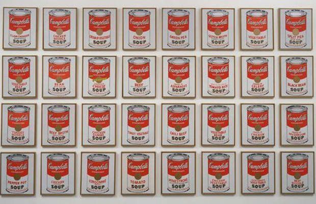 20 Pieces Of Art Every Person Over 20 Should Recognize Campbell S Soup Cans Andy Warhol Soup Cans Andy Warhol Art