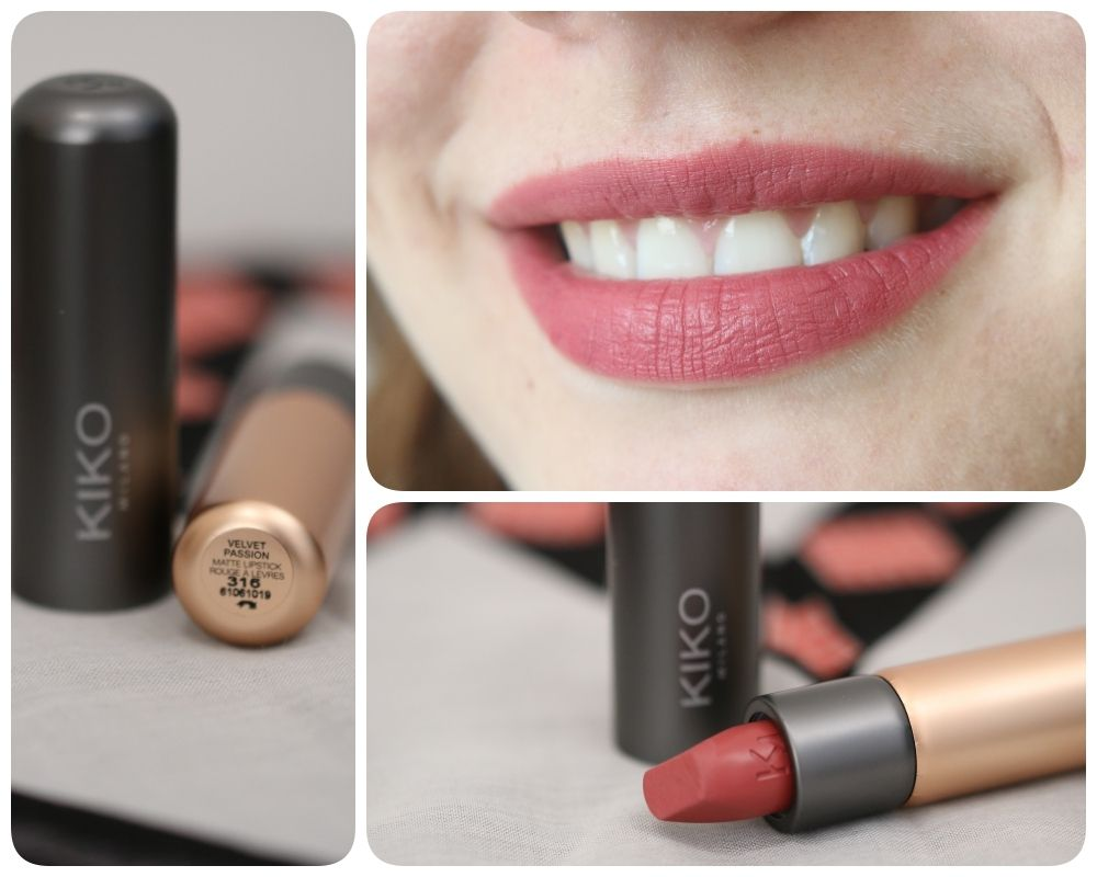 Kiko Velvet Passion 316 Vintage Pink Maquillaje