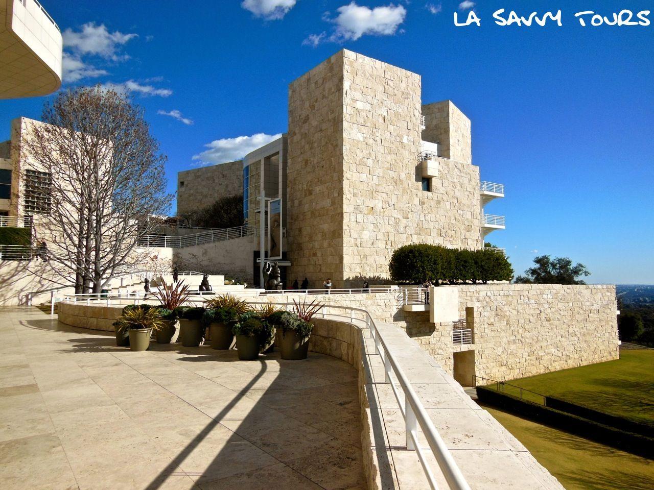 Paul Getty Museum Center Los Angeles California - Richard Meier And Robert