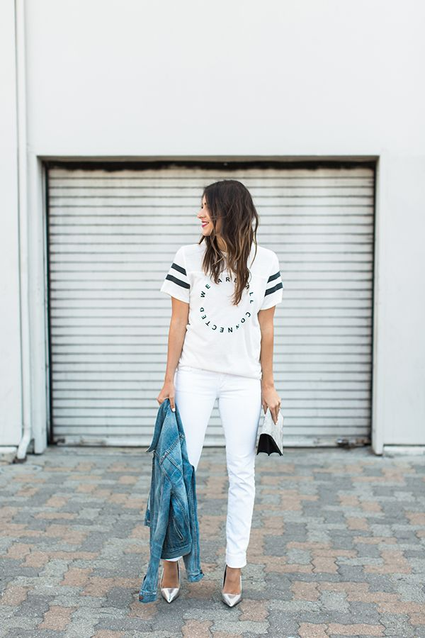 3 Ways To Style A Graphic Tee
