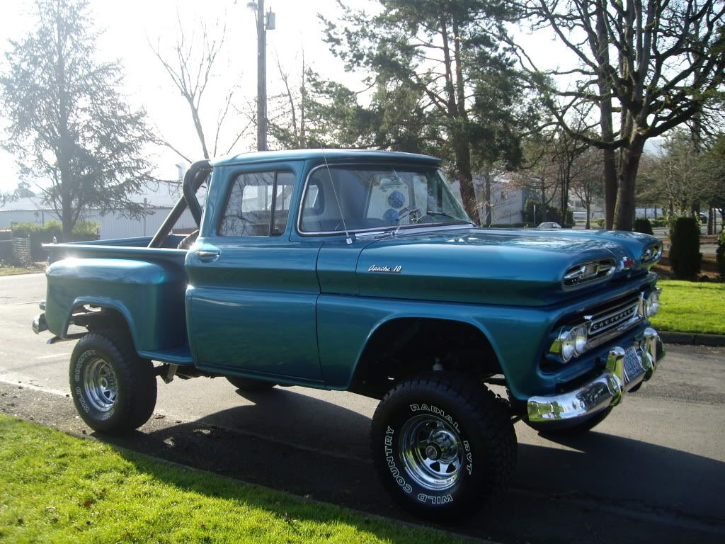 All Chevy 1963 chevy stepside for sale : 60-66 Chevy And GMC 4X4's Gone Wild - Page 6 - The 1947 - Present ...