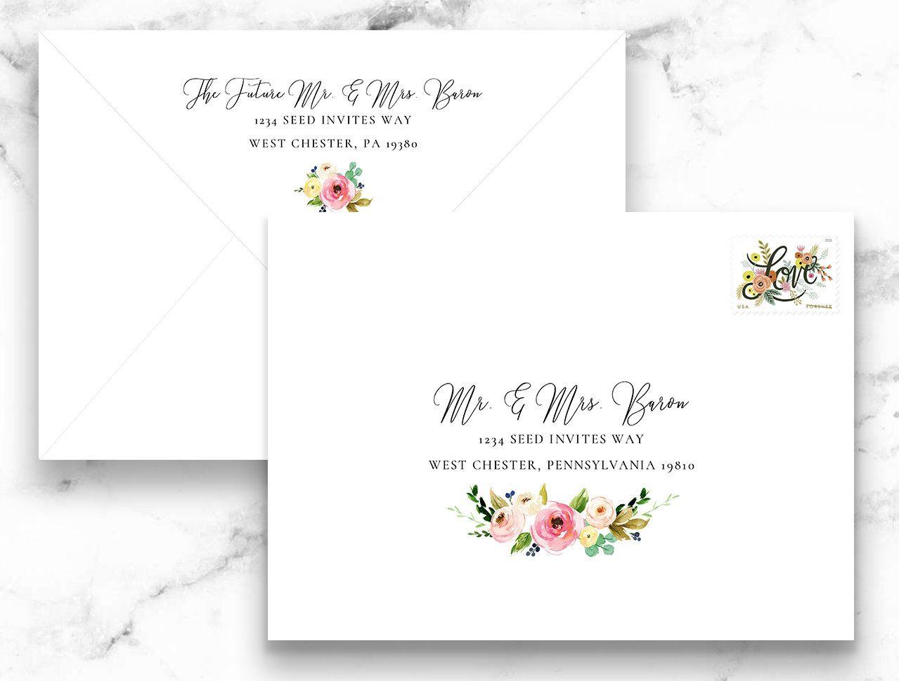 Pin On Envelope Address Printing