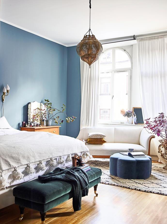 Best A Modern Boho Apartment With An International Feel Blue 400 x 300
