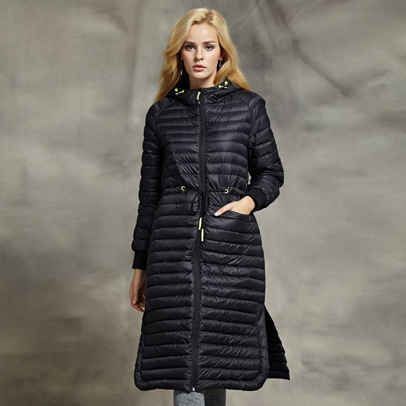 White Goose Winter Down SlimThin Elegant New Woman Jacket D2YWIEH9