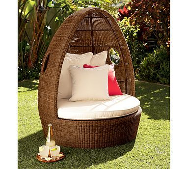 Pottery Barn Outdoor Lounge Area