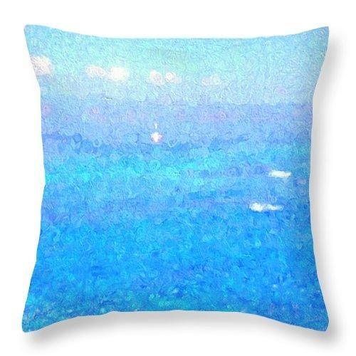 """Maui Memories Throw Pillow for Sale by Kathy Bassett - 18"""" x 18"""""""