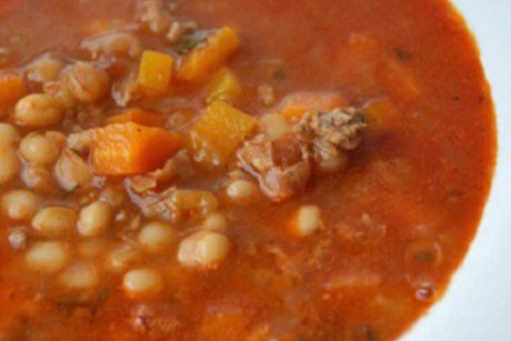Serbische Bohnensuppe Rezept Suppen + Eintöpfe Pinterest - serbische küche rezepte