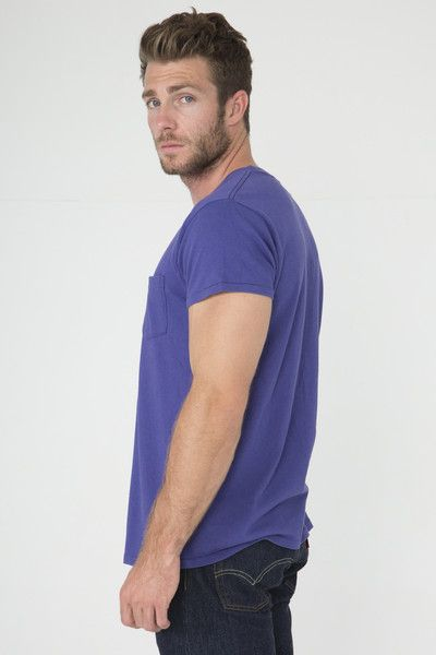 cb635343 Levi's Vintage Clothing Purple 1950's Sportswear T-Shirt | Wears ...