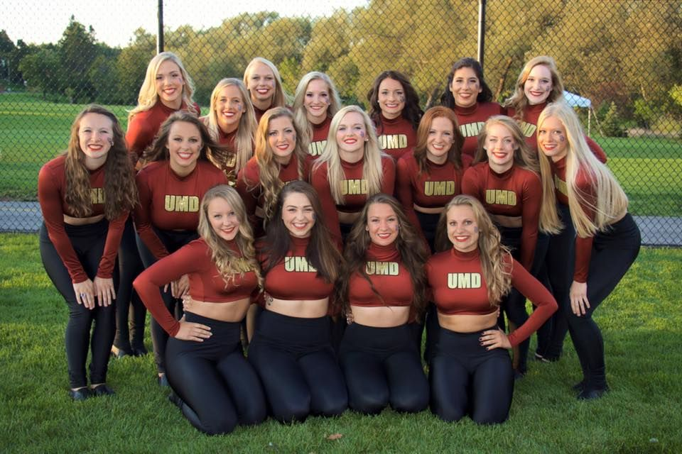 Customer Spotlight University Of Minnesota Duluth Dance Team S New Game Day Look Dance Team Uniforms Dance Teams Fitness Wear Outfits