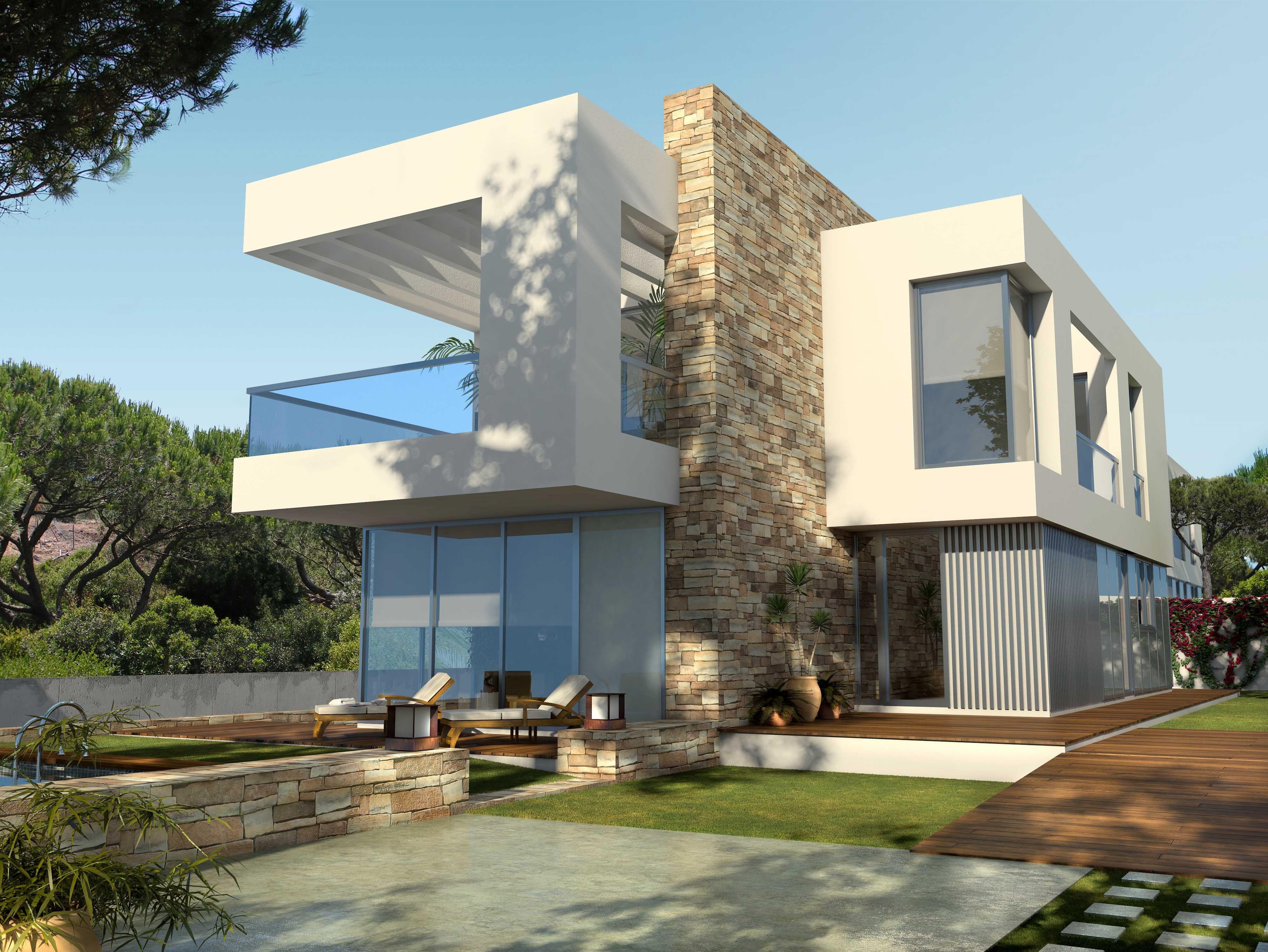 Imagen del proyecto realizado en 2008 para 5 viviendas - Fachadas viviendas unifamiliares ...