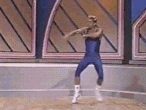My friends say I dance like an idiot when I'm high.