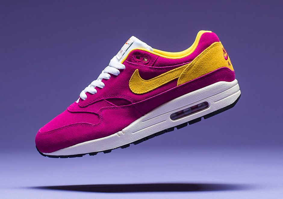 sports shoes 6f97a 009fd Nike Air Max 1 30th Anniversary Berry Vivid Sulfur   SneakerNews.com