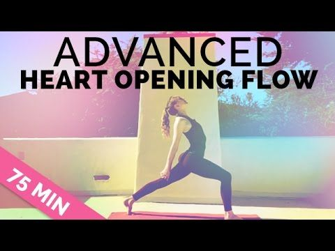 yoga sequence 75min  advanced heart opening flow with