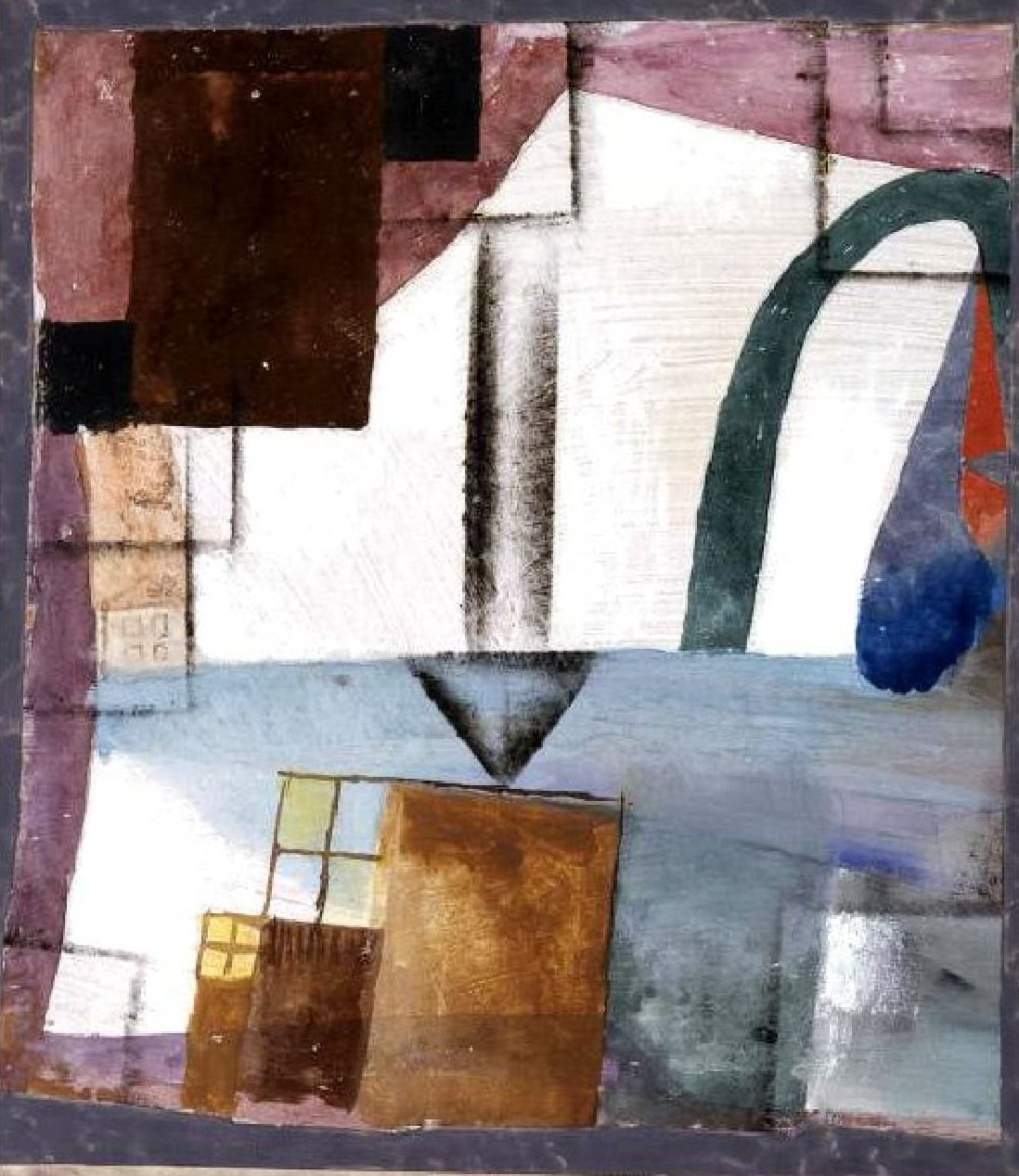 """Paul Klee  'White Easter II'  1924  Gouache and watercolor  17 1/4 x 14 3/4"""""""